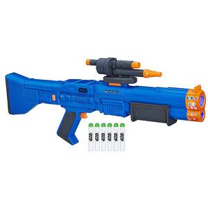 NERF兒童射擊玩具 孩之寶Hasbro 星際大戰外傳 韓索羅 丘巴卡電子聲光射擊器 E2107