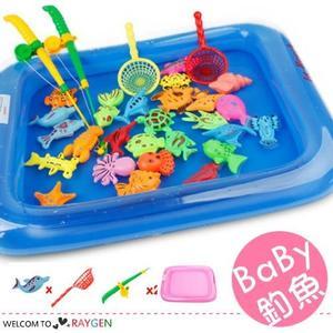 夏季寶寶戲水磁性釣魚26件組 益智玩具