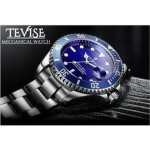 Tevise-藍水鬼 特威斯手錶水鬼系列Tevise男錶女錶 中性錶對錶 3ATM生活防水 時尚手錶