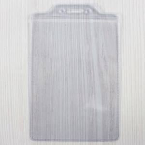 3x5 名牌套 識別證套 透明軟硬(直式)/一個入(定12) 出入夾 板套 吊套-珍奇D121