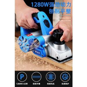 電刨 電刨家用小型多功能手提臺式木工刨木工具電動刨子壓刨刀機