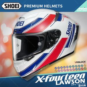 [中壢安信]日本SHOEI X-Fourteen X14 選手彩繪 LAWSON TC-1 紅白 全罩 安全帽 限定生產