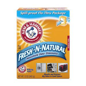 美國 A&H 清潔用小蘇打粉(消臭盒) 340.1g 冰箱去味 鞋櫃除臭 去味 除臭 消臭 小蘇打粉 鐵鎚牌