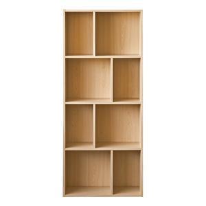 空櫃 書櫃 收納櫃【收納屋】創意四層八格櫃-原木色& DIY組合傢俱