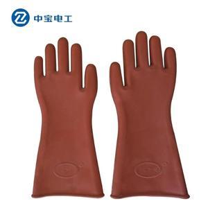 雙安牌 12KV高壓絕緣手套 電工絕緣手套防電耐高壓雙安牌絕緣手套 安妮塔小舖