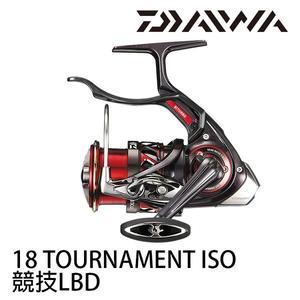 漁拓釣具 DAIWA 18 TOURNAMENT ISO 競技 LBD (手煞捲線器) #紅蟳