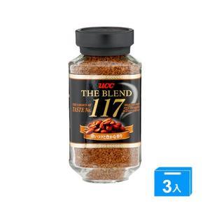 UCC 117即溶咖啡135G*3【愛買】
