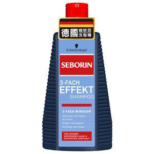 Seborin 三效咖啡因抗屑洗髮露 【躍獅】