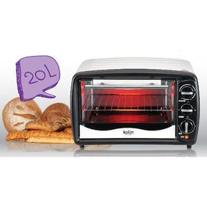 【鼎立資訊】歌林  20公升 電烤箱 KBO-LN201 100℃~250℃ 溫度調整 取式烤盤 附取盤夾