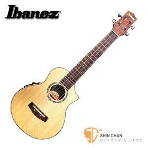 【烏克麗麗】【23吋可插電烏克麗麗】 【Ibanez UEW 10SRSE】【附原廠琴袋】