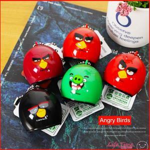 憤怒鳥 Angry Birds 正版 安全帽造型吊飾 兒童玩具 鑰匙圈 公仔 B17048
