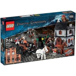 樂高積木 4193 神鬼奇航 傑克船長 倫敦大逃亡 ( LEGO Pirates )