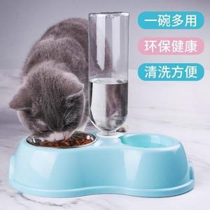 貓碗貓食盆狗碗狗盆泰迪狗狗雙碗貓咪中小型犬自動飲水器寵物用品 時尚教主