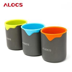 【狐狸跑跑】愛路客 戶外水杯旅行茶杯 矽膠輕巧杯 ALOCS TW-406
