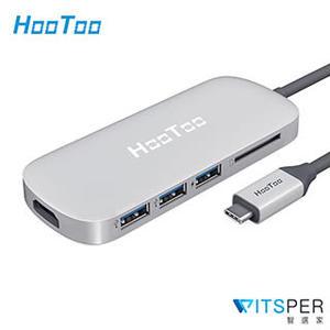 【WitsPer智選家】HooToo HT-UC001 MacBook Hub 6合1蘋果集線器 (SD卡版) macbook hdmi macbook dongle