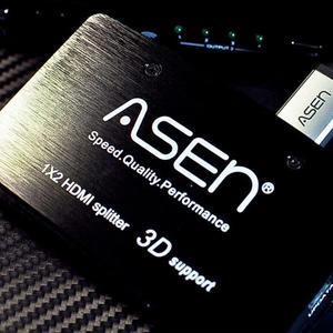 ASEN HDMI 1進2出分配器AHCS-12K 1.4版