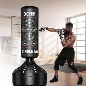 拳擊沙包 拳擊沙袋 立式家用成人訓練 室內健身沙包不倒翁專業武術搏擊器材【快速出貨】