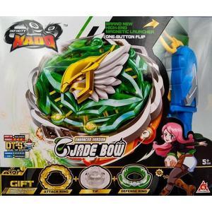 颶風戰魂陀螺  高級系列-霹靂神駒(綠色-大盒)(YM634403)←戰鬥陀螺 發射器 陀螺盤 益智