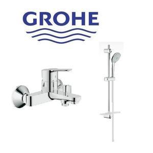 【麗室衛浴】德國GROHE BauEdge系列 淋浴龍頭 32820+Euphoria 110 27231滑桿組