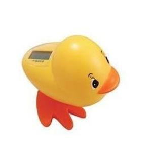 Super Duck 黃色溫度小鴨 溫度計 新手爸媽必購商品(最佳彌月禮)-超級BABY
