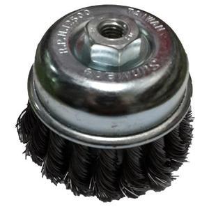 鋼絲輪 2-1/2英吋(65mm) 扭股 碗型鋼絲輪 磨漆 磨鐵鏽