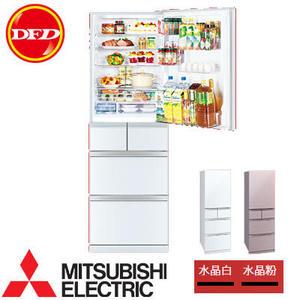 MITSUBISHI 三菱 MR-BC46Z-P-C 五門冰箱 455公升 日本原裝 白/粉 MR-BC46Z-W-C ※運費另計(需加購)