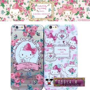 Hello Kitty×LAURA ASHLEY系列iphone6S/6 plus保護殼  -upcu0020137