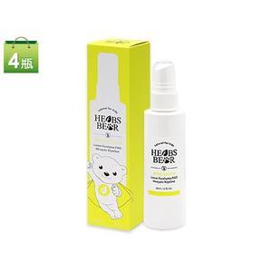 加量不加價 草本小熊天然檸檬桉油PMD防蚊液80ml 4入組  贈潔芬乾洗手