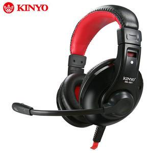 [哈GAME族]滿399免運費 KINYO 耐嘉 EM3651 超重低音立體聲耳機麥克風 完美立體聲 先進抗噪技術