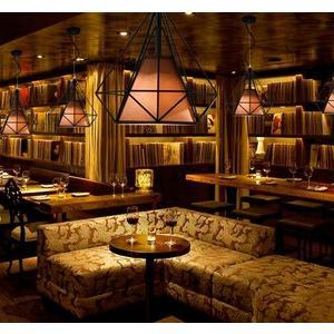 北歐現代簡約酒吧臺燈具餐廳吊燈三頭鑽石過道工業風個性創意燈飾 潮流衣舍