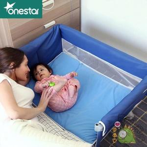 便攜式新生兒嬰兒床可摺疊旅行寶寶小床wy