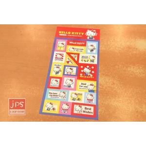 [百冠] Hello Kitty 凱蒂貓 郵票貼紙 SN-ST230