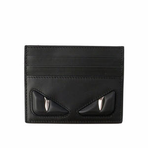 【FENDI】Monster Eyes立體眼睛信用卡/名片夾(黑) 7M0164 076 F0GXN