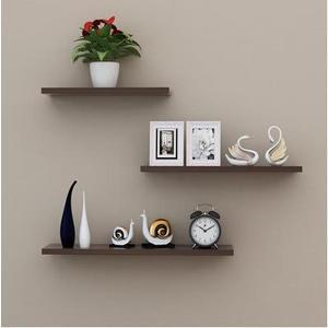 牆上置物架牆壁客廳一字隔板擱板壁挂牆面層板書架18(首圖款)
