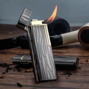 打火機 煙鬥專用打火機充氣點煙器斜火男式個性充氣火機 台北日光