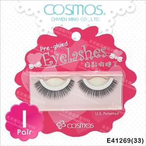 COSMOS自黏假睫毛(33)-單對E41269(不需要另塗膠水) [91503]