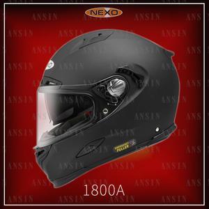 [中壢安信]德國 NEXO 1800A 消光黑 輕量 全罩 安全帽 歐規ECE 航太複合材料 浮動鏡座 ZEUS 瑞獅