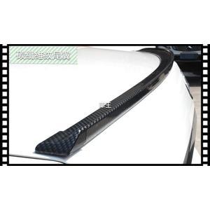 【車王小舖】三菱 Fortis Lancer Virage 寬版 碳纖維紋 Carbon 壓尾翼