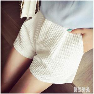 2019夏季新款雪紡短褲女士時尚韓版寬鬆薄款休閒闊腿女褲zt288 『美好時光』