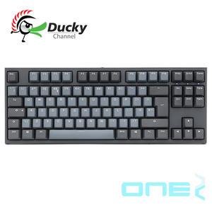 Ducky One2 Skyline 天際線 TKL PBT 二色成型 Cherry 機械式鍵盤 靜音紅軸 銀軸
