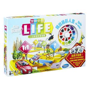 桌遊 孩之寶Hasbro 團康派對玩具 人生旅程教育遊戲 生命之旅 04000