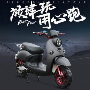 電瓶車 小龜王電動車尚領迅鷹男女雙人電摩托60V72V成人電瓶車踏板摩托車 JD 非凡小鋪