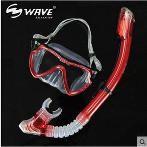 浮潛三寶套裝 全乾式呼吸管呼吸器 浮潛面罩