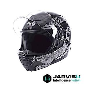 JARVISH X LAZER 藍牙智慧安全帽-沙漠之鷹 Monaco Evo S 神腦公司貨