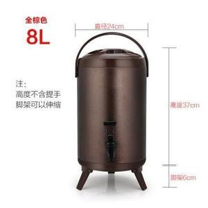不銹鋼奶茶桶保溫桶奶茶店商用10L豆漿桶
