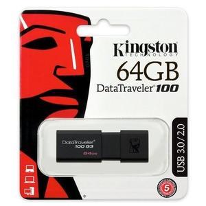 【台中平價鋪】全新 金士頓 Kingston DT100G3 64G USB3.0 隨身碟 五年產品保固