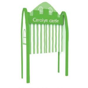 【兒童 書 桌 椅 教具 家具】馬卡龍城堡入口(綠)