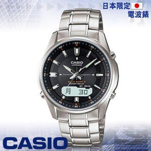 CASIO 手錶專賣店 卡西歐 日本限定版電波時計_LCW-M100D-1AJF 超薄錶殼紳士男錶 不鏽鋼錶殼錶帶