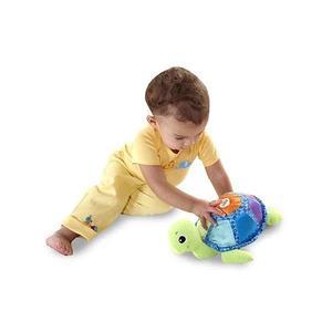美國《Lamaze 拉梅茲》嬰兒玩具 布書 彌月禮盒←音感小烏龜 _LC27094