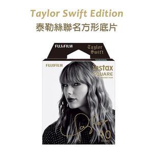 黑熊館 FUJIFILM instax SQUARE SQ6 拍立得底片 泰勒絲 Taylor Swift 聯名款 親筆簽名 黑色 方形相紙
